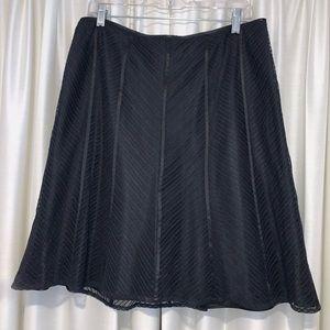 Sassy black skirt - 14p